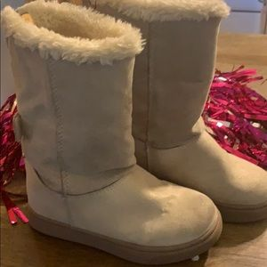 BRAND NAME /CAT &JACK GIRL'S BOOTS SIZE 9